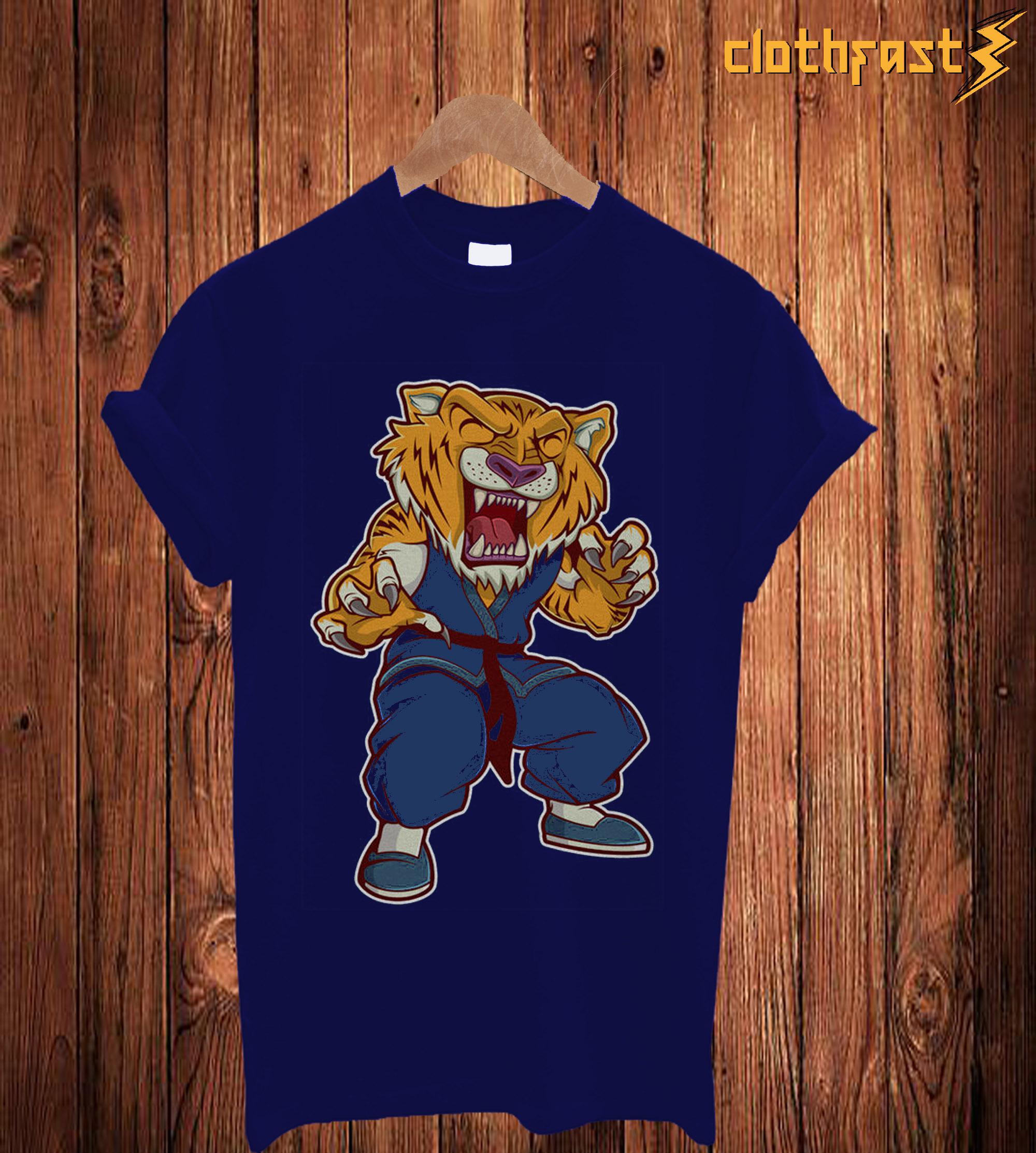 Tiger Kungfu T Shirt