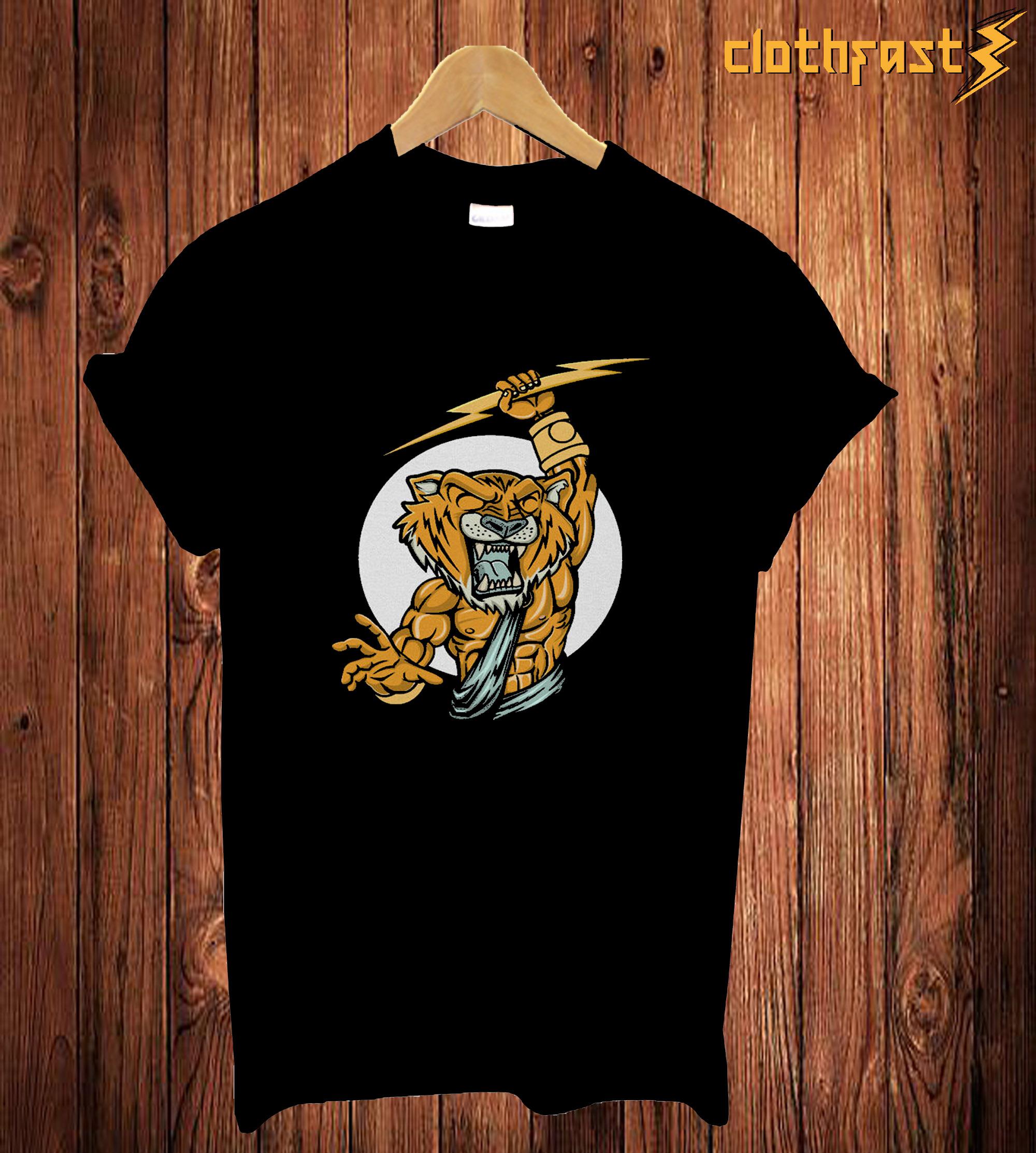 Tiger Zeus T Shirt